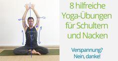 Yoga-Übungen für Schultern und Nacken gegen Verspannung