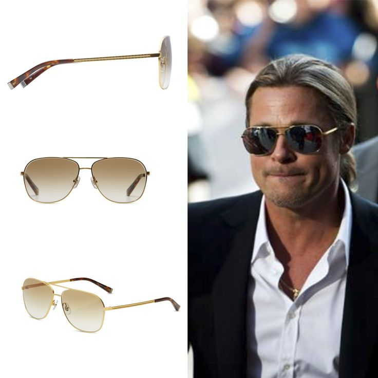 Brad Pitt at the Toronto International Film Festival wearing our M3011's with custom lenses and looking stylish on the red carpet!