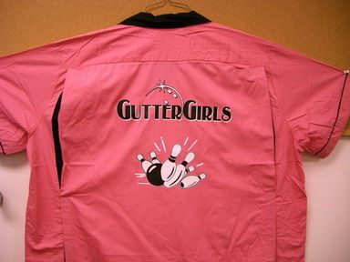 gutter girls pink and black bowling shirt amazon | Gutter Girls Retro Bowling Shirt Pink Black Fun Cute | eBay I am definatley getting this for the xmas party