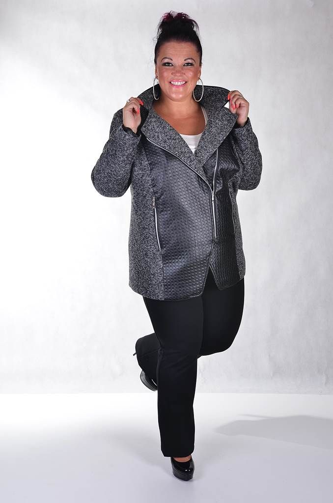 Fotky - Módne Šaty Pre Moletky - FIORI Móda pre Moletky-Nadmerné veľkosti pre ženy-Šaty pre Moletky