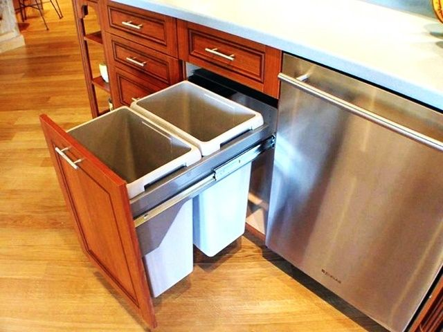20 Cool And Useful Trash Can Hacks Bored Art Kitchen Drawer