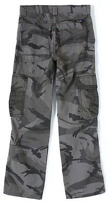 Wrangler Originals Flannel Lined Ripstop Cargo Pant Anthracite