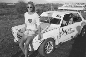 desert road trip blonde