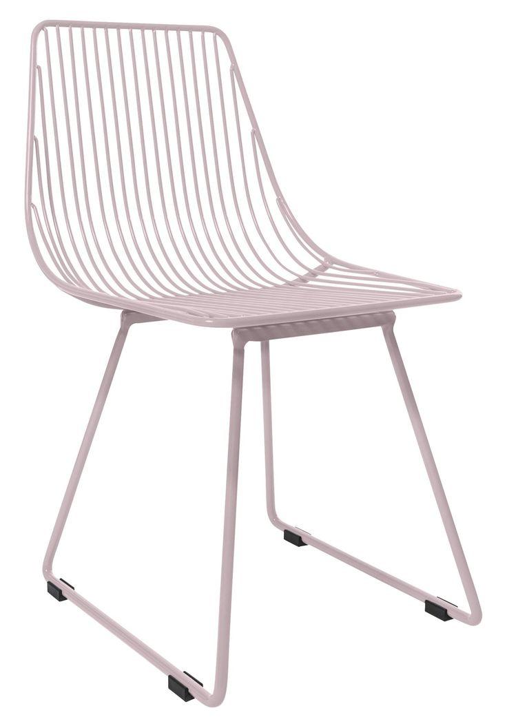 Köp Sebra Stol Metall Liten Pastell Rosa | Barnrummet Barnmöbler | Jollyroom