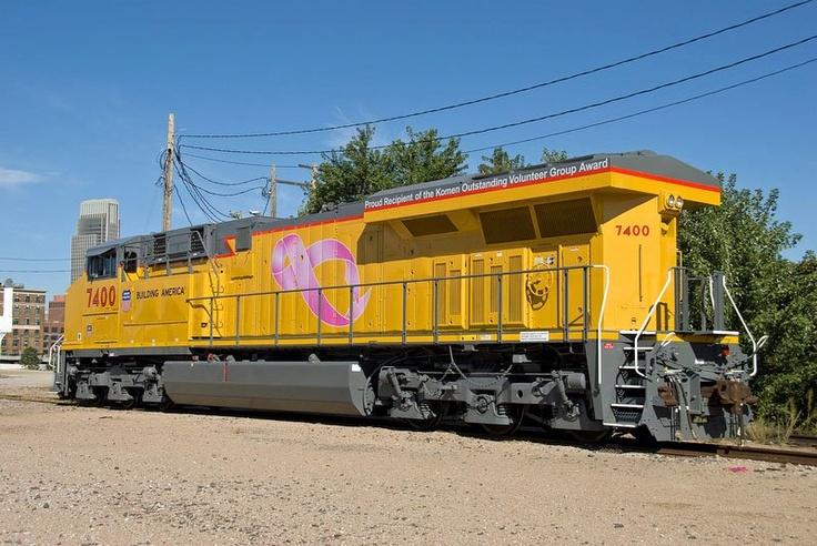 Union Pacific Railroad se une a la campaña contra el cancer de mama