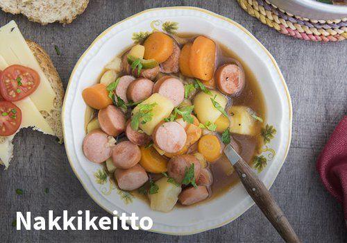Nakkikeitto Resepti: Hookoo #kauppahalli24 #ruoka #resepti #nakkikeitto
