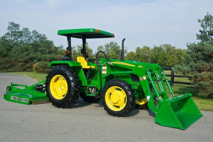 New John Deere Tractors | ... planning to purchase a new utility tractor put the 5d amd 5e series at