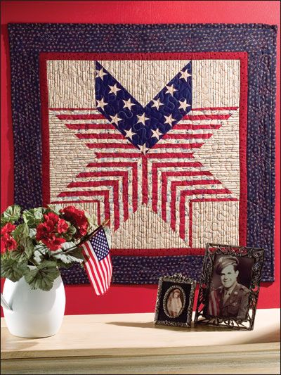 Sewing - Holiday & Seasonal Patterns - Patriotic Patterns - Oh My Stars