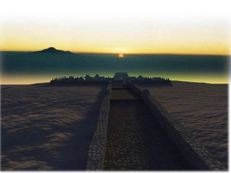 """""""@Cuauhtemoc_1521: Adoratorio Monte Tlaloc al amanecer. Los mexicas pensaban que en este lugar vivía el dios Tlaloc"""