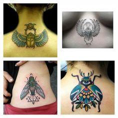Tatuaggio Scarabeo Simbolo di Rinascita