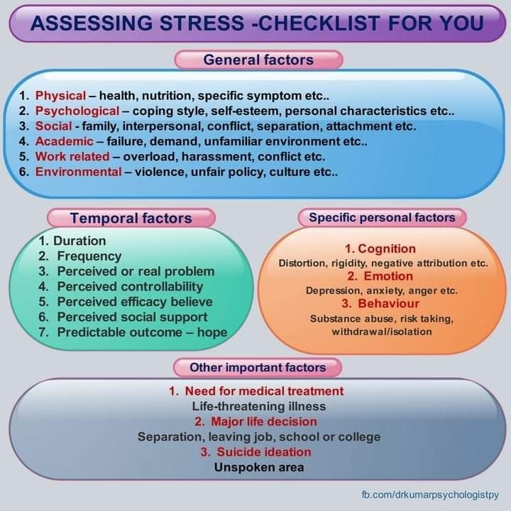 We often ignore linkage or spread effect of stress  Stress