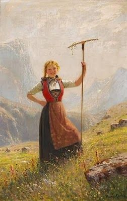 Norwegian Painter, Hans Dahl (1849-1937)