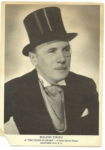 Roland Young great actor.  Played Topper with Billie Burke.