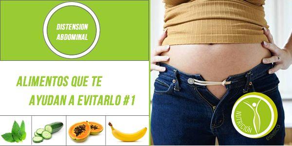 Distensión Abdominal. ¿Qué alimentos ayudan? #1  #NutricionistaLima