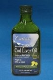 Healthy eating, fitness and losing weight | Carlson Norwegian Cod Liver Oil, Lemon comes from the livers of fresh cod fish found in the North Atlantic waters near Norway. It's an excellent source of omega-3 fatty acids DHA and EPA.