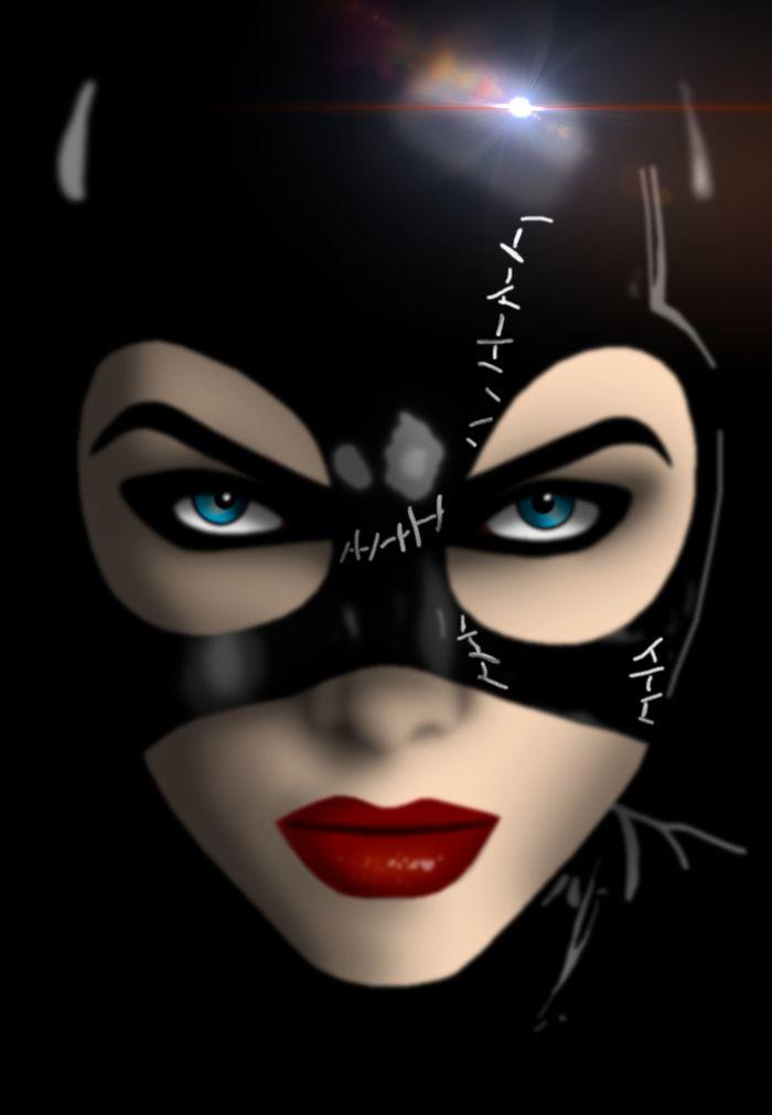 Michelle Pfeiffer as Selina Kyle in Batman Returns Michelle Pfeiffer as Catwoman-.-