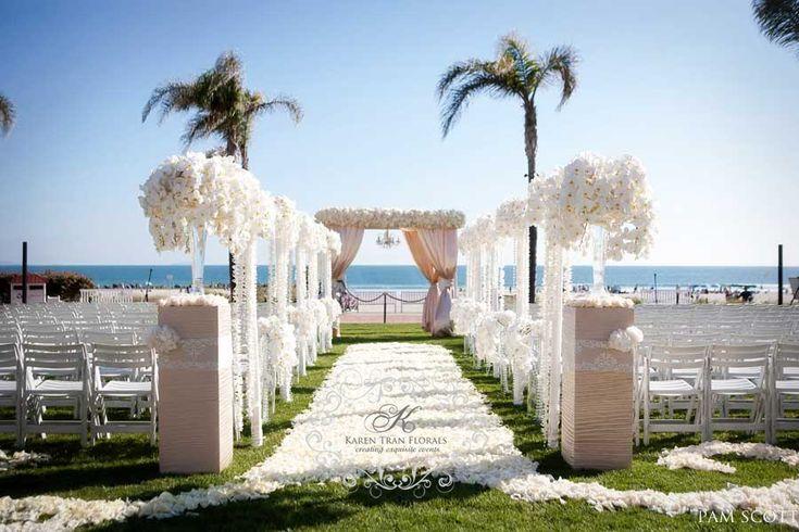 17 Best Ideas About Beach Wedding Aisles On Pinterest