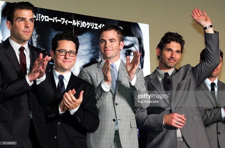 Actor Zachary Quinto Director J J Abrams Actor Chris