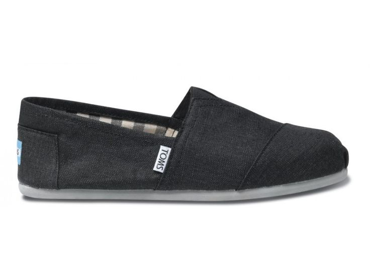 Give back to someone in need while buying a comfortable, versatile pair of shoes for yourself, with the Earthwise Slate Men's Classics side - Toms Shoes