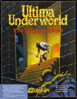 Ultima Underworld: The Stygian Abyss is a first-person role-playing video game (RPG) developed by Blue Sky Productions (later Looking Glass Studios) and published by Origin Systems. Released in March 1992, the game is set in the fantasy world of the Ultima series, and takes place inside the Great Stygian Abyss: a large, underground cave system that contains the remnants of a failed utopian civilization.