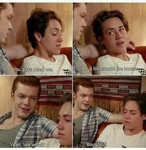 Ian and Carl