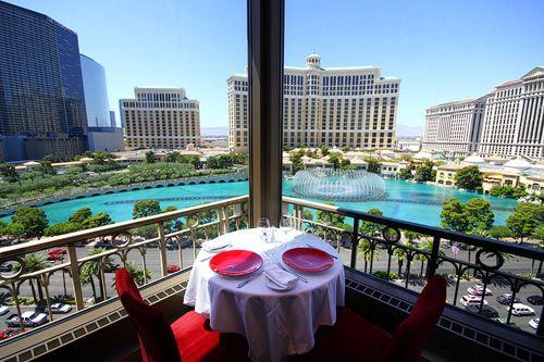 Eiffel Tower Restaurant, table 56!!
