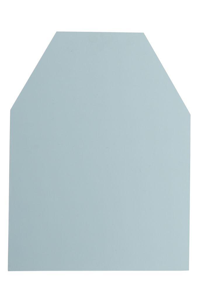 Magnetická tabule - domeček, tyrkysová menší
