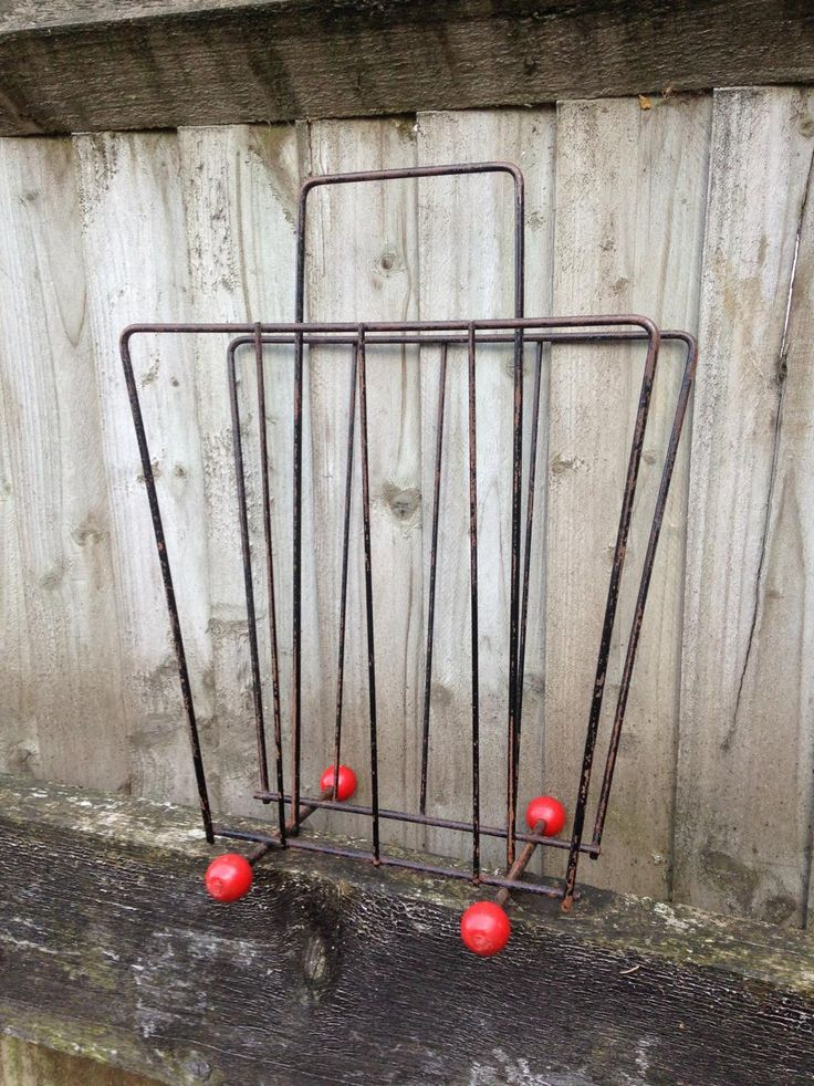 #Eames Style #Retro Period Atomic Magazine Rack #TunbridgeWells  https://www.facebook.com/afantastic.find