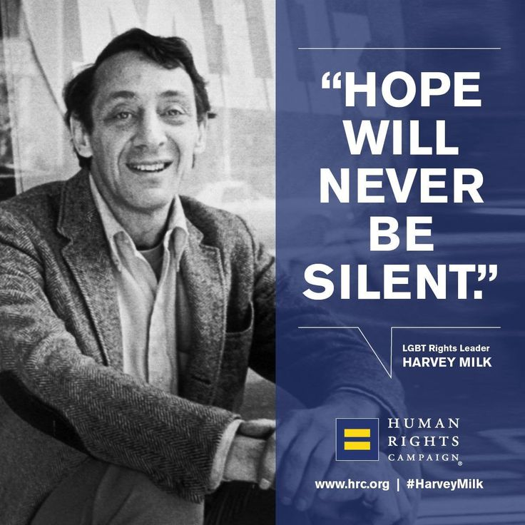 Today, HRC honors LGBTQ hero Harvey Milk, who would've been 86 years old today.