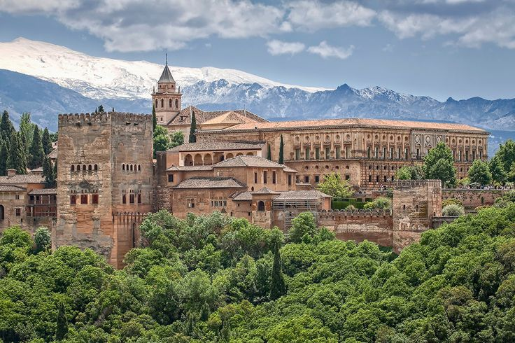 The Alhambra, Granada, Andalusia. Photo: Thinkstock