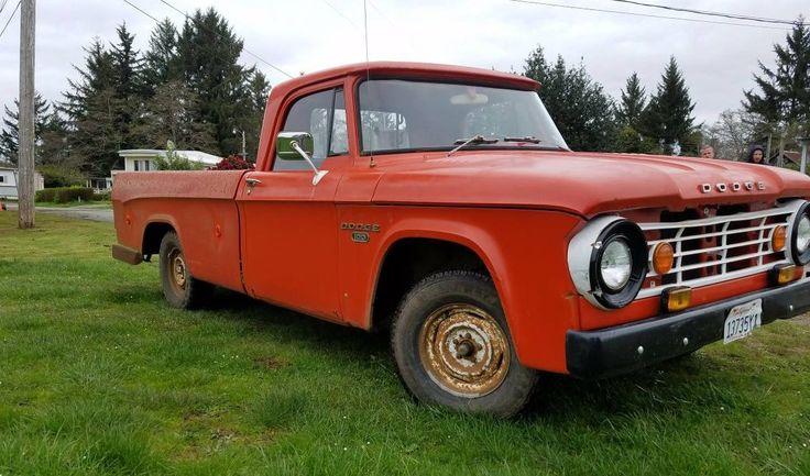 Cheap Truck: 1968 Dodge D100 Sweptline - http://barnfinds.com/cheap-truck-1968-dodge-d100-sweptline/