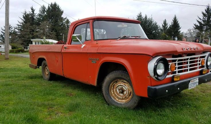 Cheap Truck: 1968 Dodge D100 Sweptline - http://barnfinds.com/cheap-truck-1968-dodge-d100-sweptline/