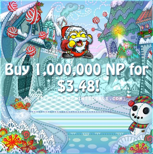 #Neopets Buy 1,000,000 Neopoints for ONLY $3.48! Purchase this offer, and become an instant millionaire! Visit us:  http://neopointsdeals.com/neopets/buy-neopoints/