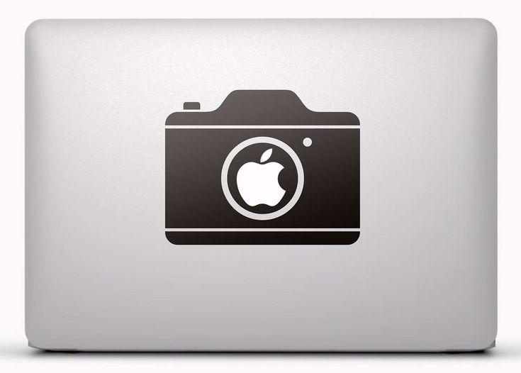 Pegatinas: Cámara fotográfica 1 Vinilo, pegatina, adhesivo para portátil, Mac, o Macbook. #vinilosportatil  #vinilosmac #vinilosmacbook
