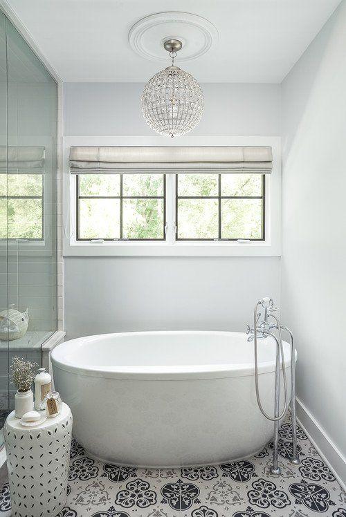 modern farmhouse in chicago suburbs bathroom interior bathroom rh pinterest com