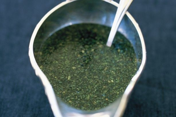 Serve this traditional mint sauce with your Sunday roast lamb.