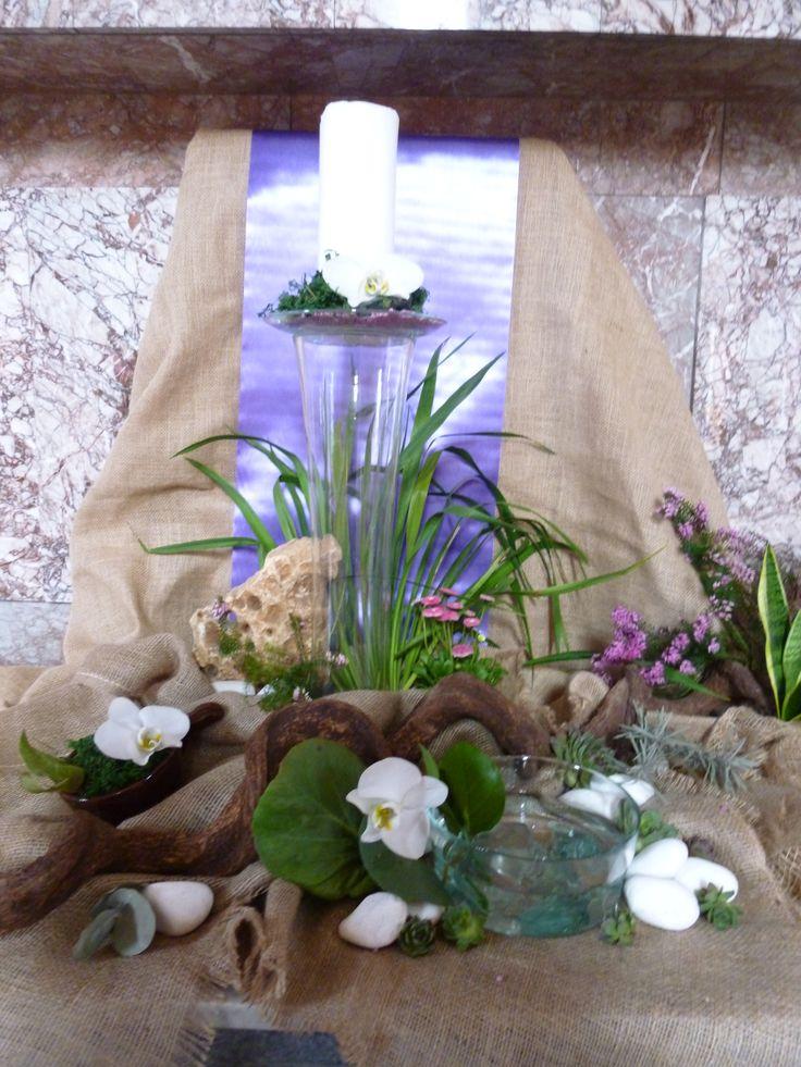Post 2017 - IV Niedziela Laetere dekoracja ołtarza (Lent - 4th Sunday)