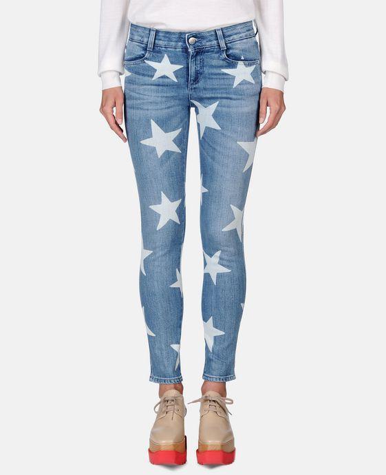 STELLA McCARTNEY Skinny Ankle Grazer Star Jeans Skinny Leg
