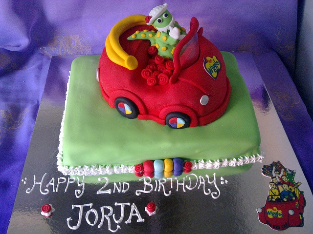 dorothy the dinosaur cake the wiggles