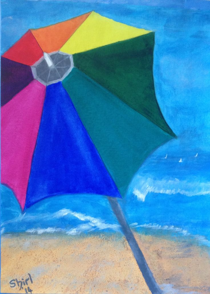 By the Seaside by Shirl in Acrylic