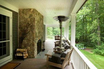 Valley - traditional - porch - new york - by James Schettino Architects