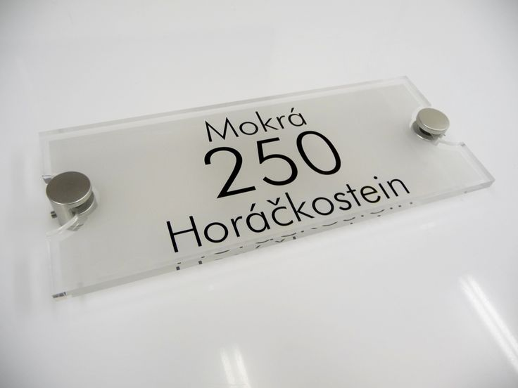 MODERN HOUSE NUMBER PLAQUES  Sophisicated Luxury Acrylic House Signs. The Perfect House Sign RX351 from De-signage http://www.de-signage.com/rx351-bespoke-house-signs.php Metropolitan Urban Chic. House Signs Can Have It Too! Only from De-signage www.de-signage.com design-your-house-sign-online was £110.00  BUY Today for £75.00 A GREAT SAVING ON A FAB HOUSE SIGN.