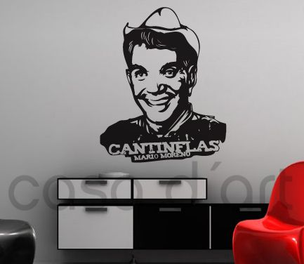 Legends - Mario Moreno - Cantinflas - Wall Decals , Home WallArt Decals