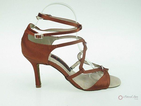 Natural Spin Designer Salsa ShoesTango ShoesFashion Shoes(Open Toe):  S1152-14_D