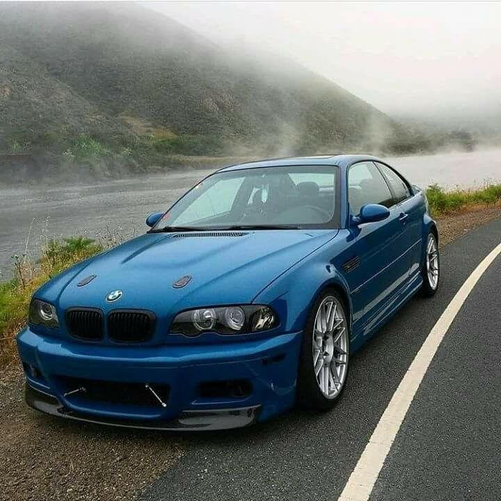 Bmw E46 M3 Blue Blue Bmw E46 Euro M3 With Images Bmw