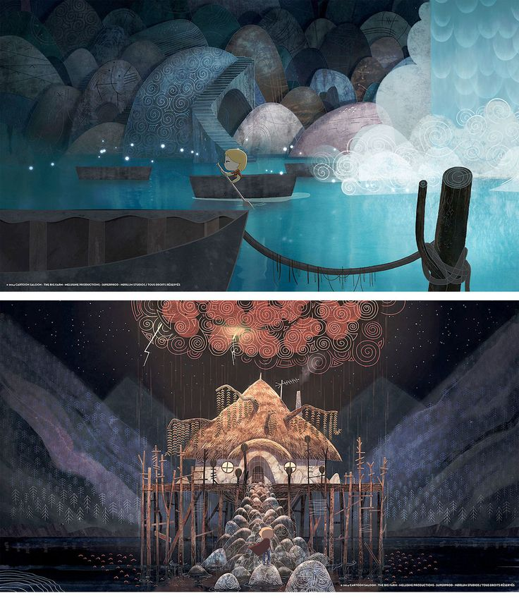 Novas imagens do filme Song of the Sea. Confira! | THECAB - The Concept Art Blog