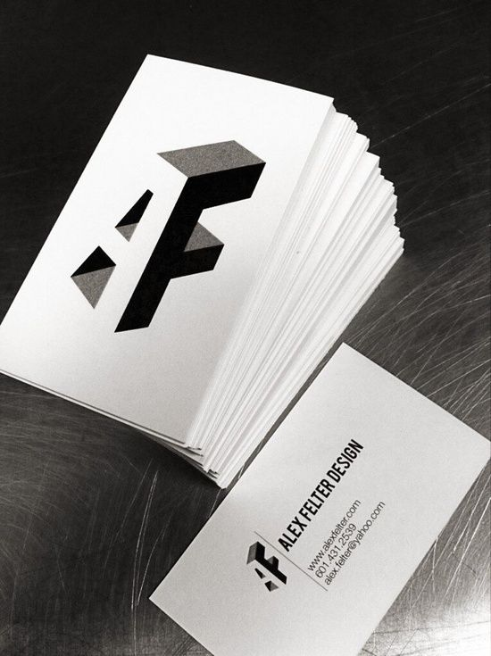 Unique Business Card, Alex Felter @abievz #BusinessCards #Design (http://www.pinterest.com/aldenchong/)