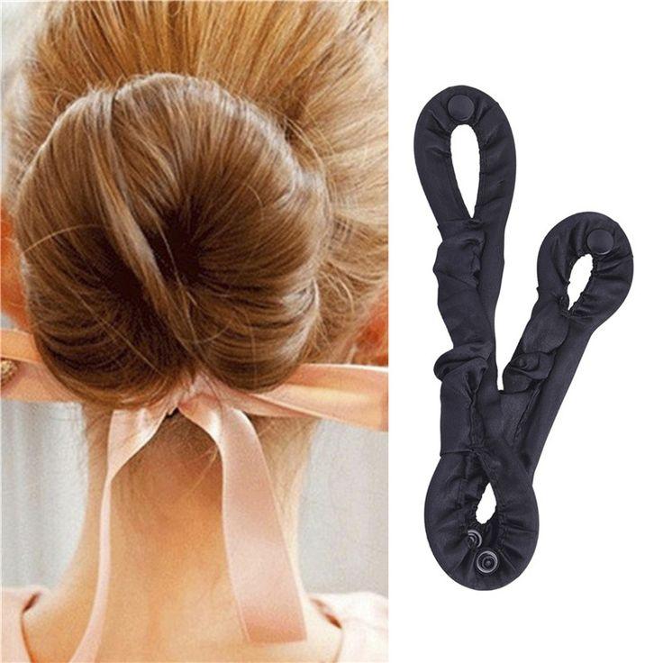 DIY Donut Hair Styling Tool voor Vrouwen Gewikkeld Haar Hoogwaardige 2 Maten Maker Pads Roller Vlechten Haarverzorging Type Accessoires