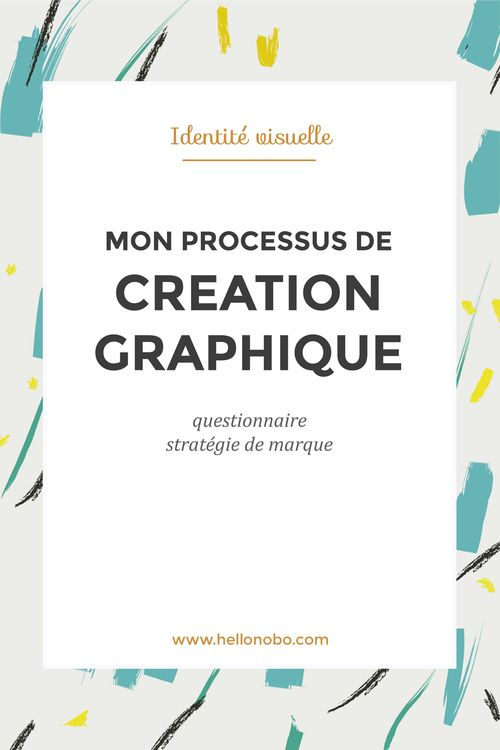 Mon processus de création graphique: le questionnaire et le brief