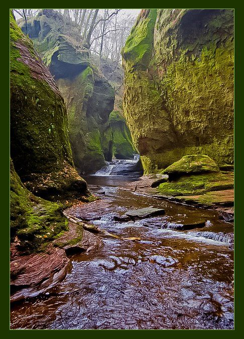 Devils Pulpit, Finnich Glen, Scotland